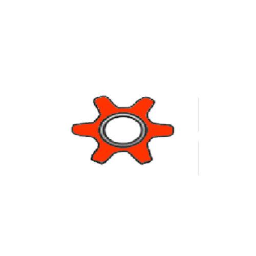 Messerspindel für Husqvarna CTH 171  5 oder 6 Stern komplett  mit Riemenscheibe