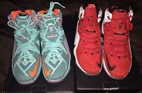 Lebron 12 Heart Of A Lion And Nsrl Mens Size 9