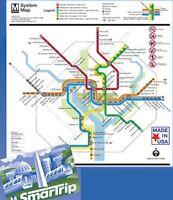 Jigsaw Puzzle Trains Subway System Map Washington Metro 500 Piece Made Usa