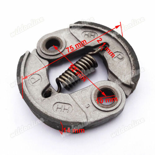 Heavy Duty Engine Clutch Pad Assembly Fit Motovox MVS10 43cc Engine Gas Scooter
