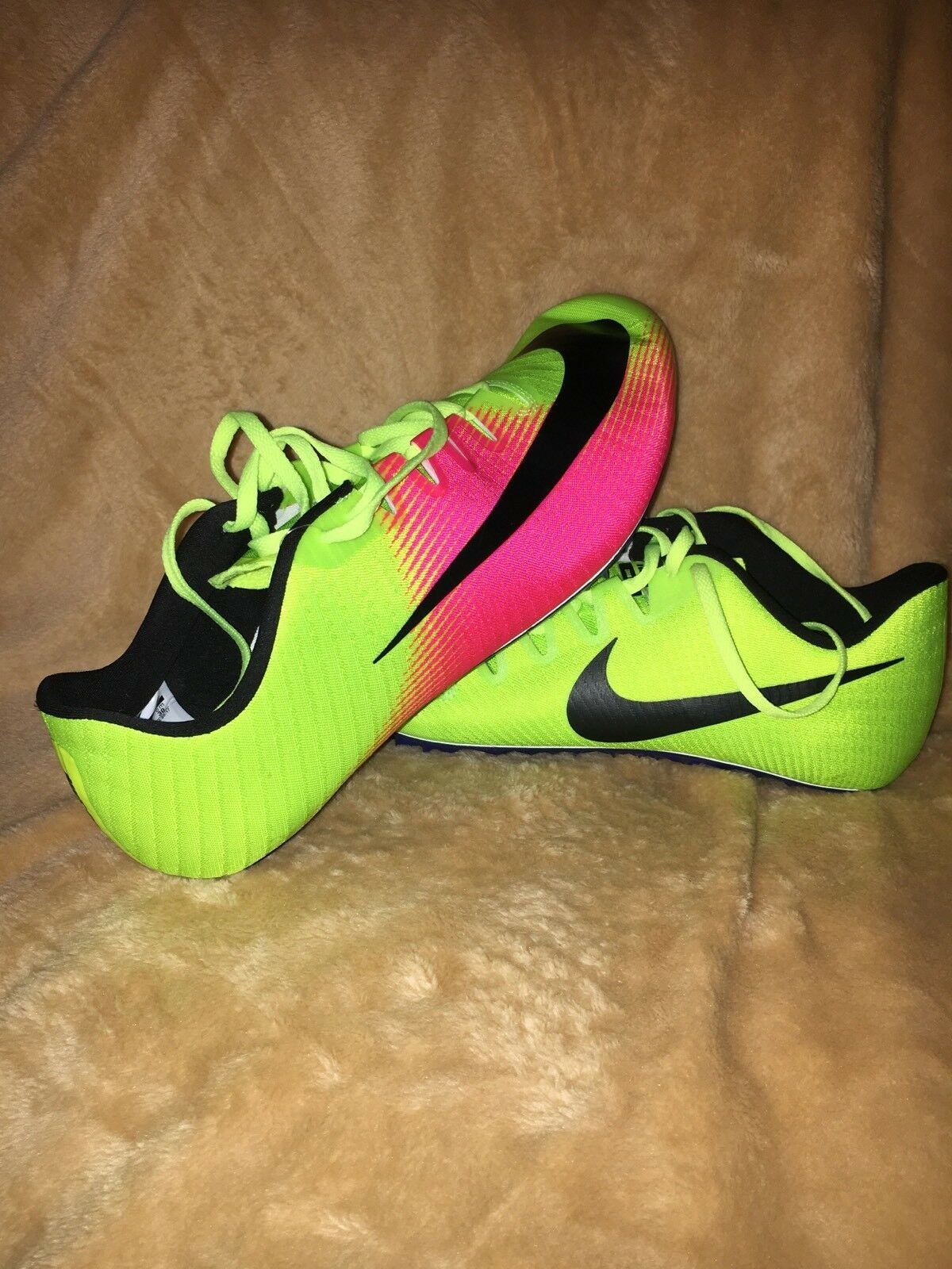New Mens Nike Zoom Ja Fly 3 OC RIO Spikes 882032-999 Running Shoes Volt Pink 882032-999 Spikes 08099d