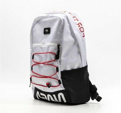 Vans x Nasa MN Snag Plus Backpack White Brand New With Tags Rare | eBay