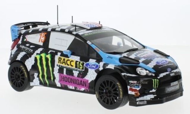 IXO 18RMC016 18RMC017 FORD FIESTA RS WRC Model Cars Rossi Cassina 1 18th Bloc