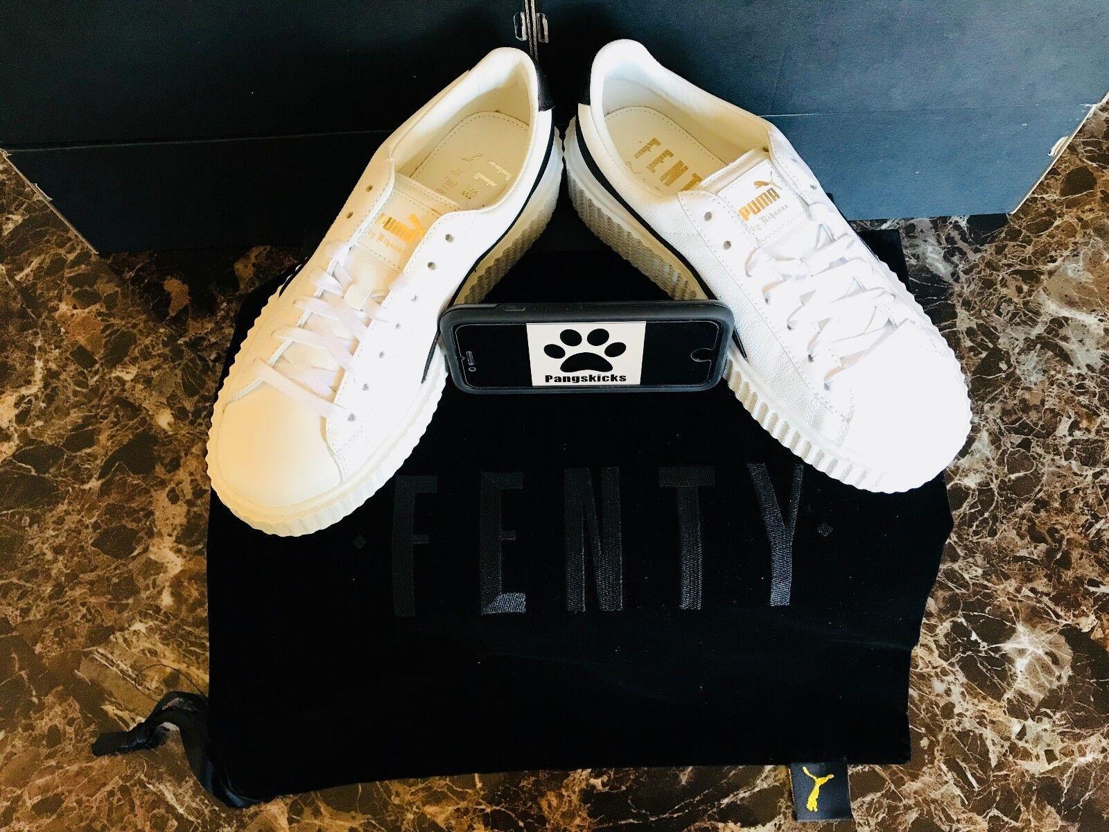 Puma Fenty par Rihanna Creeper Blanc Noir 364462-01 femme taille 6-9.5