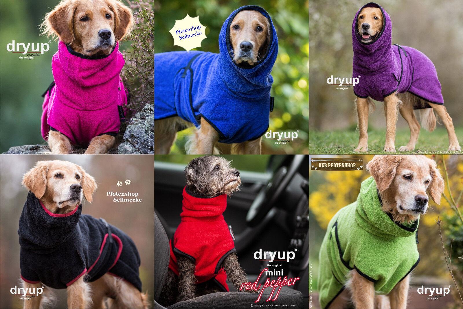 Dryup Cape, der Must have - Hundebademantel, große Farbauswahl   | Vorzugspreis