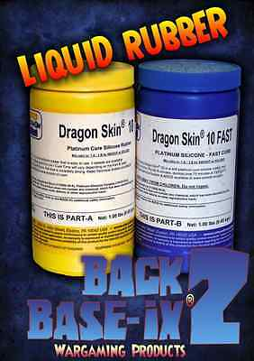 Liquid Silicone Rubber Compound Smooth On Dragon Skin 10 (Fast) Trial Kit