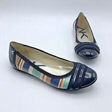 c5caca20271 Ak Anne Klein Atworth Women Multicolor Ballet Flat Shoe Size 7M Pre Owned
