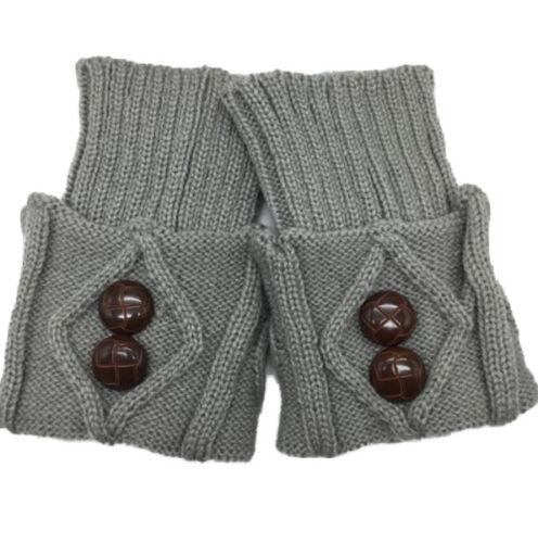 Damen Strickstulpen Stiefelsocken Beinstulpen Trachtensocken Stulpen Beinwärmer