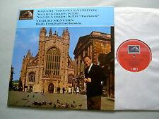ASD 473 MOZART Violin Concertos Nos. 3 & 5 Menuhin vinyl LP