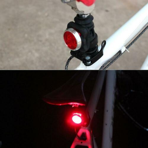 USB Rechargeable Bicycle Bike Rear Light 3 Modes Headlight Taillight Lamp Lights