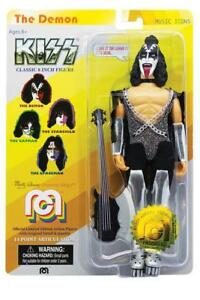 KISS-MEGO-Gene-Simmons-8-in-environ-20-32-cm-Figure-Official-Licensed-musique-Icon-Series-Nouveau