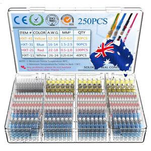 250Pcs-Waterproof-Heat-Shrink-Butt-Wire-Connector-Solder-Seal-Sleeve-Terminals