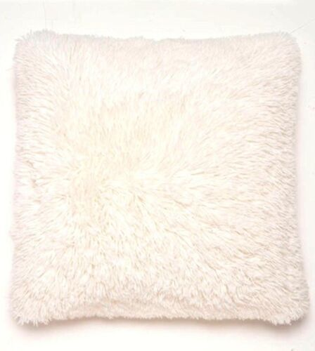 """FILLED LUXURY SUPER SOFT CUDDLY CUSHION//SOFA COVERS,6 GREAT COLOURS SIZE 18/""""x18/"""""""
