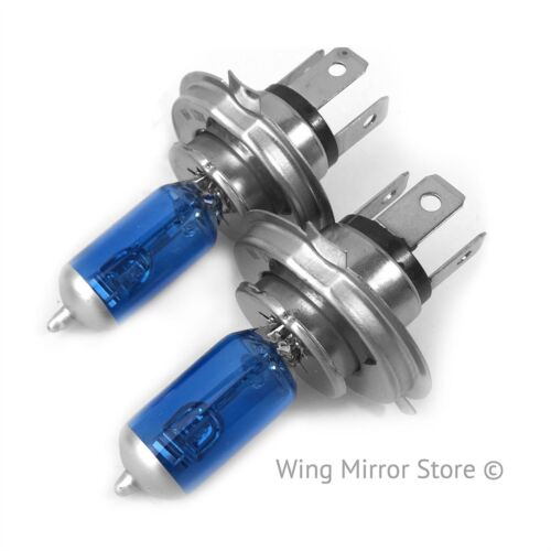 For Vauxhall Vivaro 2001-2014 Low Dipped Beam H4 Xenon Headlight Bulbs Pair Lamp