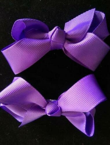 """Girl/'s 2 PC Hand Made 3/"""" Hair Bow Set ~ Fast FREE Shipping #H33"""