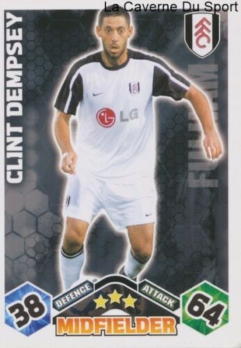 CLINT DEMPSEY # USA FULHAM.FC CARD PREMIER LEAGUE 2010 TOPPS
