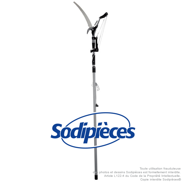 marchi di stilisti economici Potatore ingrandita ingrandita ingrandita su boom fibra di vetro Spear & Jackson  le migliori marche vendono a buon mercato