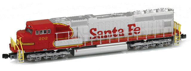 AZL Z Scale Locomotive AT&SF SD75M Road Number 202