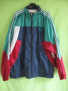 Détails sur Veste Adidas Toile 90'S Nylon Polyamide Vintage Vert marine Jacket 192 XXL