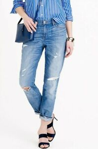 J-Crew-Broken-In-Boyfriend-Jeans-In-Keough-Wash-Size-24