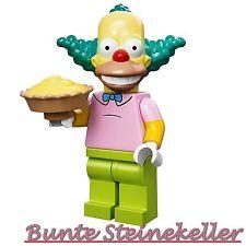 71005 LEGO® Minifigures Nr.8: Krusty der Clown aus The Simpsons Serie 1 ! NEU !