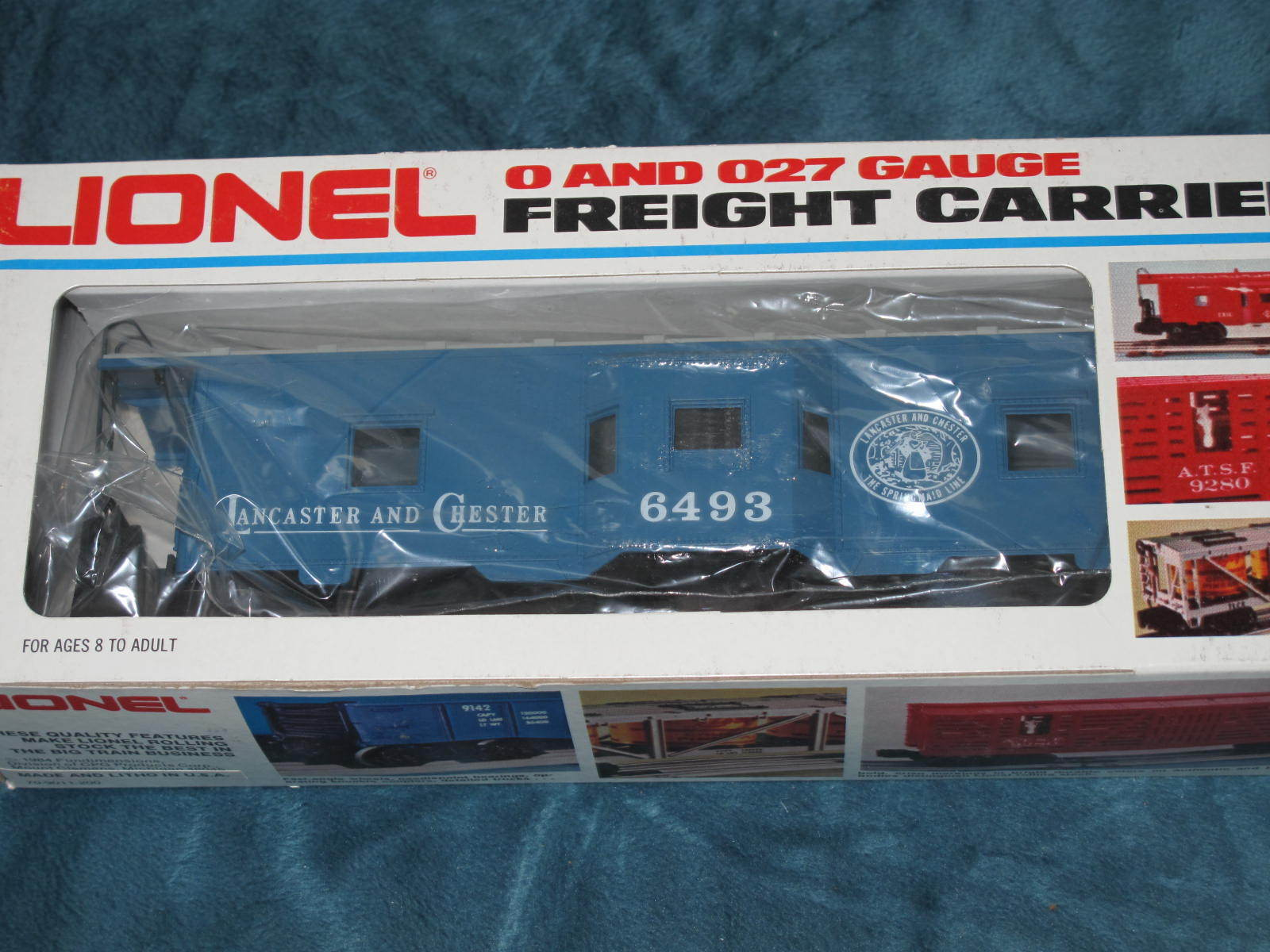 1986 Lionel 6-6493 Lancaster and Chester Bay Window Caboose NIB L1935