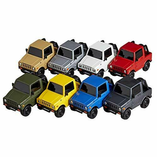 Miniature cube miniQ Suzuki Deformed Mini Car Collection Jimny Random BOX