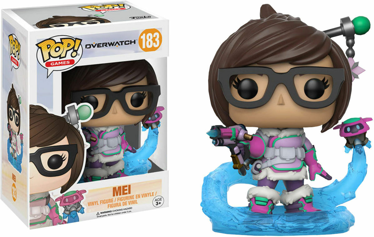 Mei With Snowball Blizzard Funko Pop Vinyl Figure Overwatch