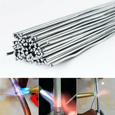 50PCS Low Temperature Aluminum Welding Solder Wire Brazing Repair Rods 2*500mm