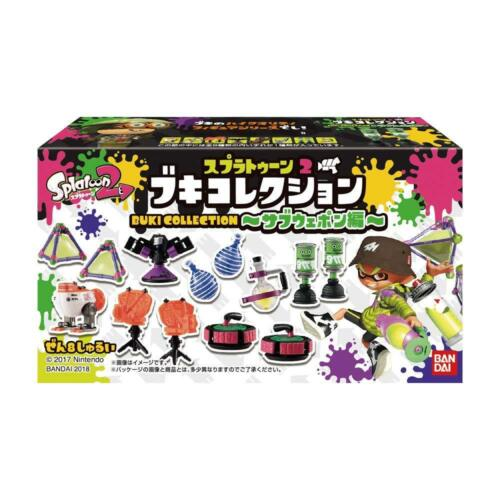 Bandai Splatoon 2 Buki Collection Sub Weapon Edition 8 pcs BOX w// Tracking NEW