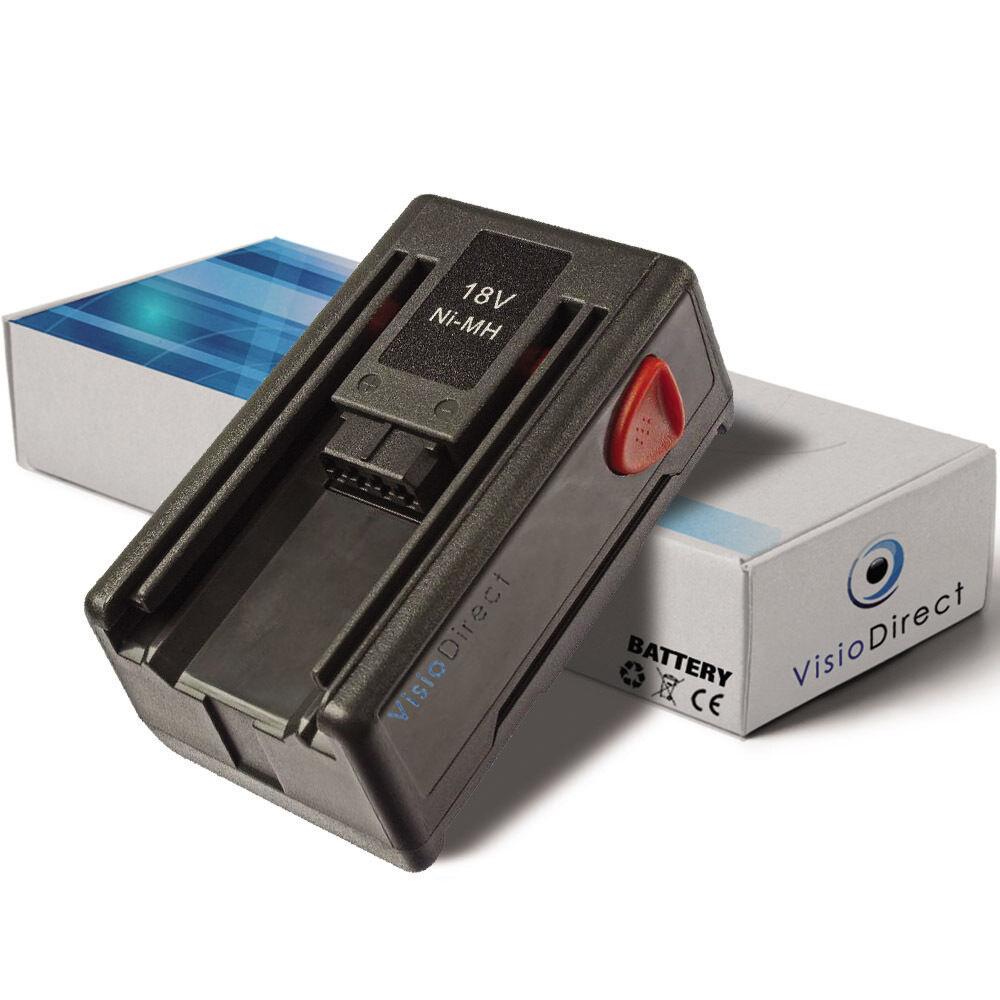 Batterie 18V 1500mAh pour Gardena 648872 - Société Française -