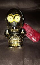 Disney Store  Star Wars C-3PO Talking Flashlight NEW The Force Awakens  aa4