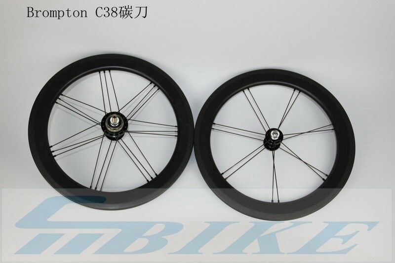 780g ACE Carbon 38C 16  349 G3 Bicycle Rims  and Hubs for Brompton Bicycle  up to 65% off