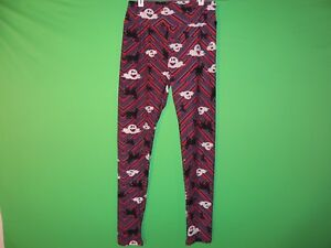 LuLaRoe-Womens-One-Size-Halloween-Ghost-Cat-Geometric-Leggings