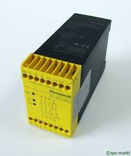 • Honeywell FF-SRS59352 -used- Dual channel emergency stop module 24V DC #GO
