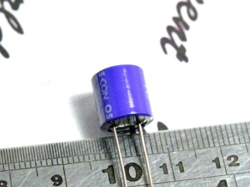 SANYO 220uF 10V OSCON Radial Aluminum Solid Capacitors 10SA220M OS-CON 10pcs
