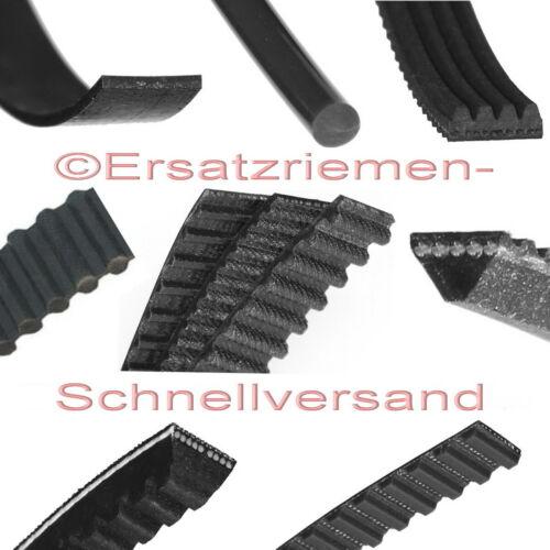2 rundriemen//Courroies de transmission pour Marron de CUISINE machine type 4171 mc1//mc2//rc2