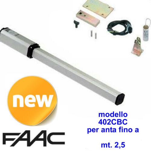 Neu Arm Original Faac 402 Automatisierung Tor Öl Anta bis 2,5 MT