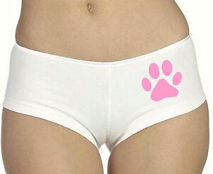 Dog Paw BOYSHORTS Panties Ladies Underwear Women | eBay