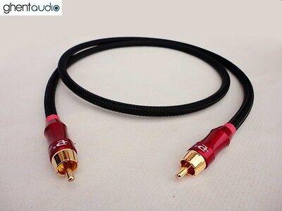 E02 (0.3m 1ft) --- Digital Coaxial 75Ω RCA/Phono (m/m) Audio/Video Canare LV-61S