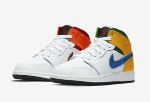 Nike Air Jordan 1 Mid Rare White/ Court