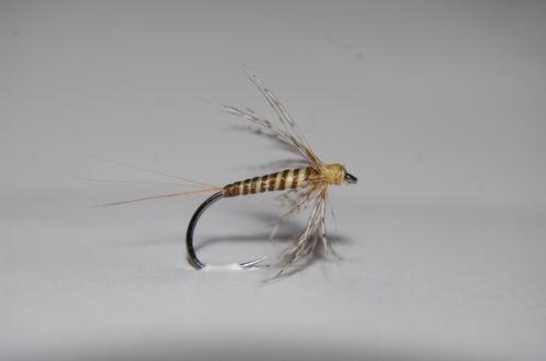 Wet Flies Soft Hackles CK Nassfliegen  je 3 Stück  Spiders