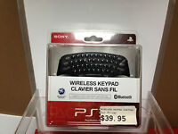 Wireless Bluetooth Keypad For Playstation 3 Controller - Sony - Brand