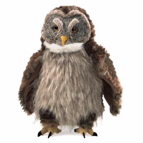 Folkmanis Hooting Owl Hand Puppet, 16