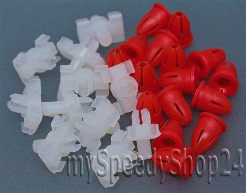 40x paréntesis clips tapones tules para w123 las molduras limosine T-modelo coupe