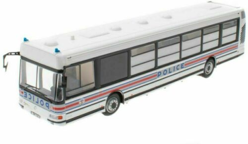 IXO HACHETTE 1//43 DIECAST IRISBUS AGORA S POLICE NATIONALE FRANCE 2002 BUS