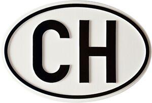 Auto-Schweiz-CH-Relief-Switzerland-Schild-3D-Emblem-HR-RICHTER-Art-19154