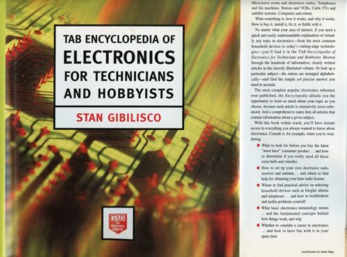 Tab Encyclopedia of Electronics for Technicians and Hobbyists - Stan Gibilisco