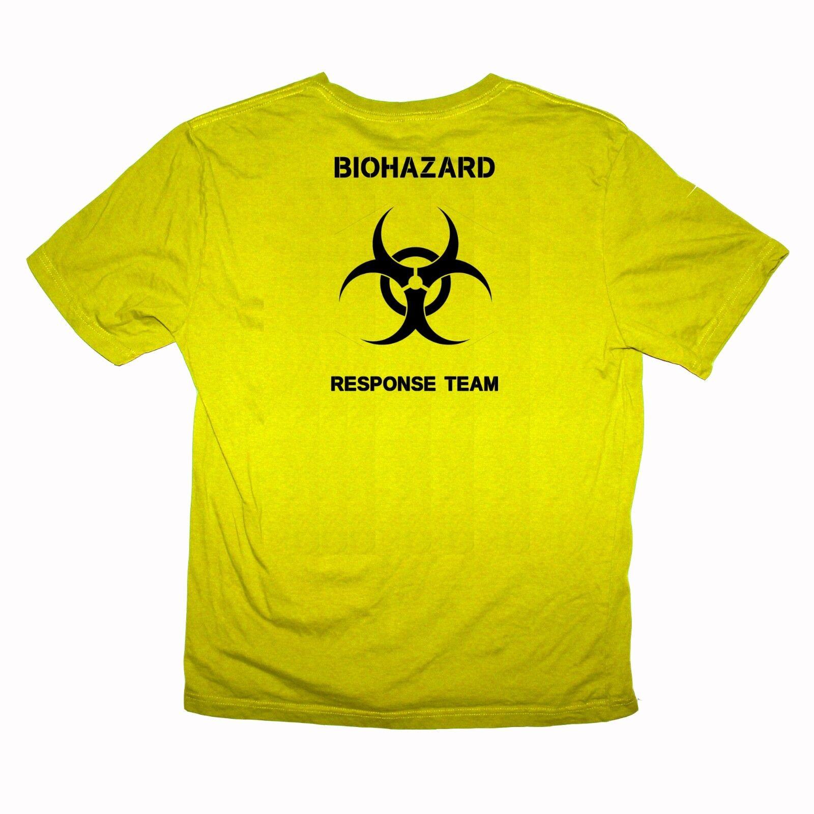 GMB Industries Biohazard Response Team 6 shirts - Sizes S-XXXL Various Colours