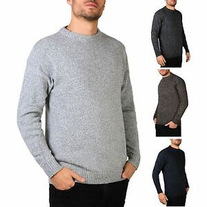 3da43d1b35cf5 Image is loading Krisp-Jersey-Hombre-Wool-basico-clasico-sueter-Invierno-